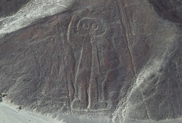 Alien in Nazca