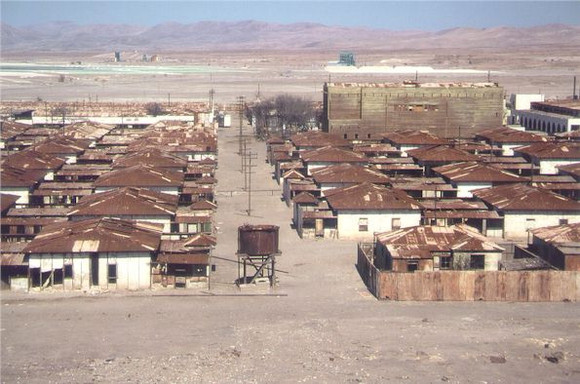 Humberstone and Santa Laura, Chile Ghost Town