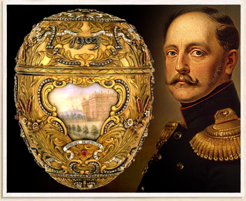 Fabergé eggs found