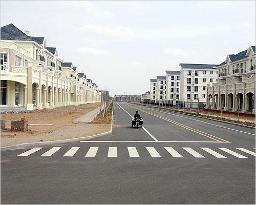 Bancario Cinese? Città fantasma in Cina