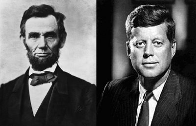 A. Lincoln and J.F. Kennedy