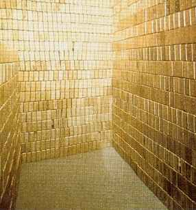 fort knox missing gold