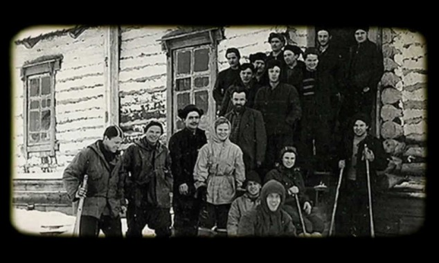 Dyatlov and his team the day before departing for the mountain top