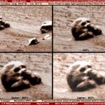 Skull found on Mars !