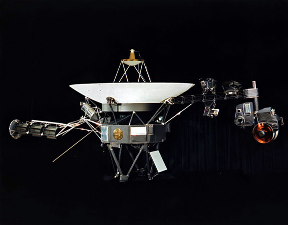 Voyager 1 Reaching Interstellar Space 35 Years after Leaving Earth