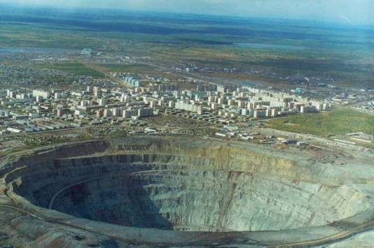 Worlds Biggest Sink Holes and Man Made Holes | Strange ...