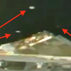 Fleet of UFO&#039;s fly by Space Station