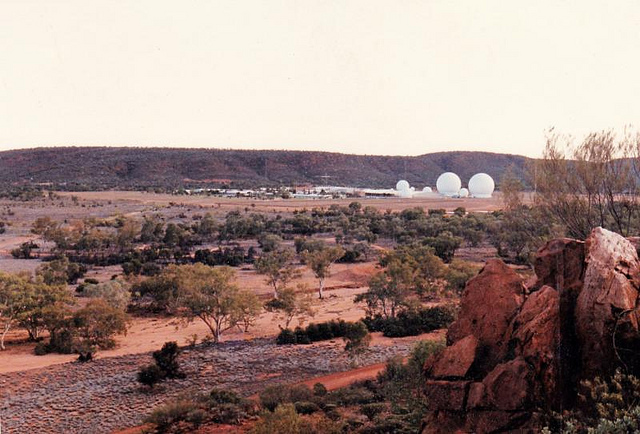 Radar station 24 at Pine Gap
