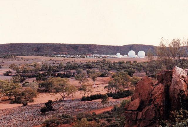 Radar station 24 at Pine Gap