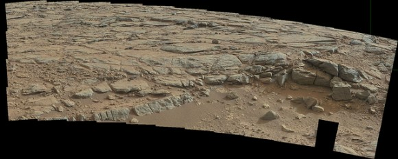 Ruins On Mars