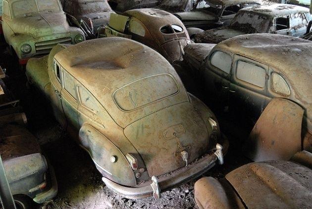 Switzerland's Kaufdorf Vehicle Graveyard | Strange ...