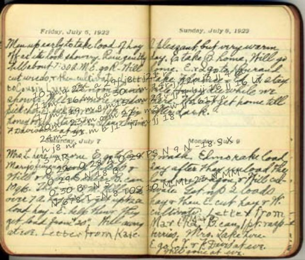 Isdal woman diary found