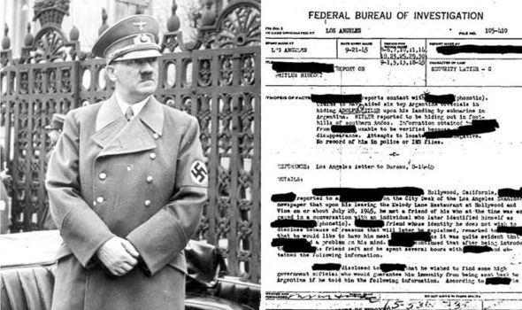 hitlers escape to south america essay New book claims proof that vatican helped hitler escape to story to me is not that hitler escaped alive to south america ruse to escape detection, he also.