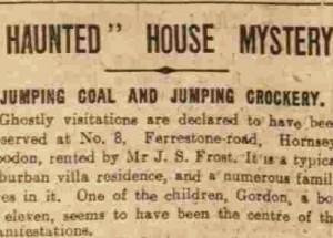 The Hornsey Coal Ghost