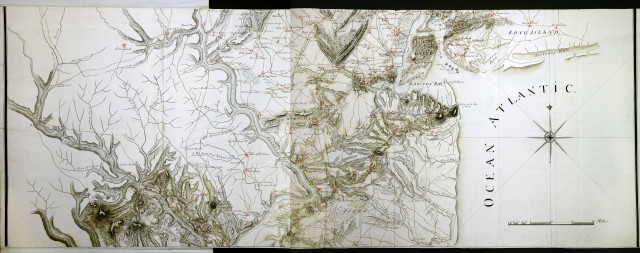 Ong, map from 1770