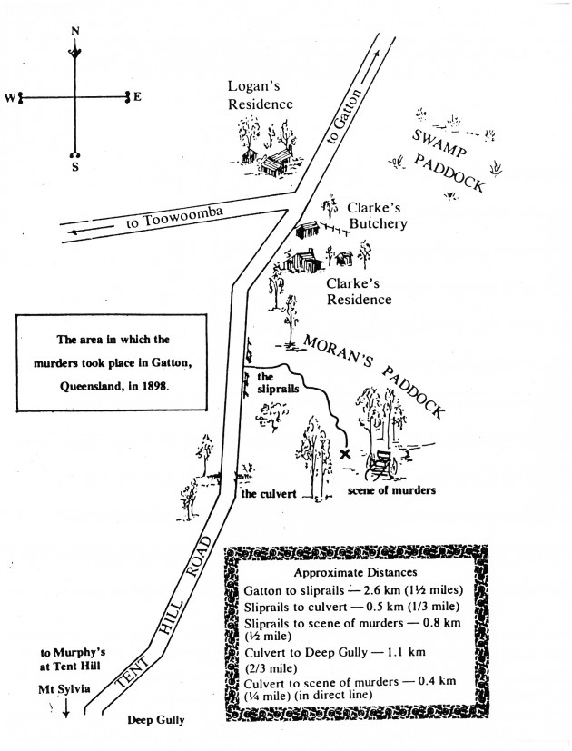 Gatton map