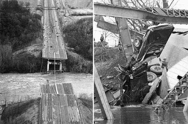 The silver bridge collapse