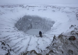 Unexplained Photo of Crater