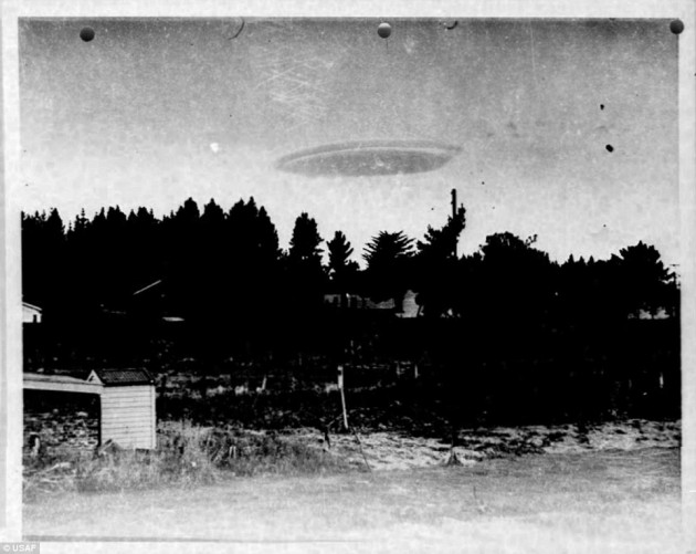 Unexplained UFO picture New Zealand