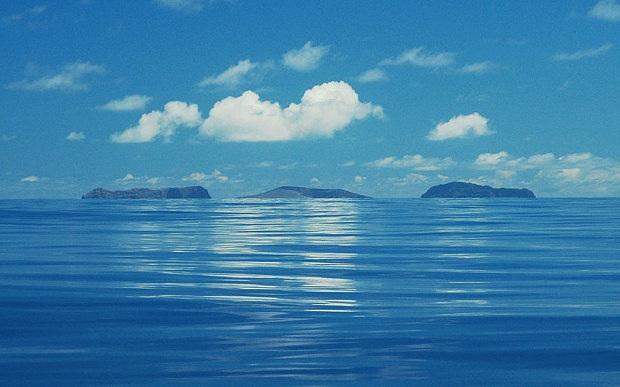 New islands off Tonga