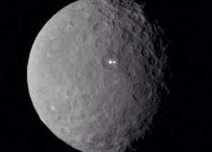 White glow on Ceres