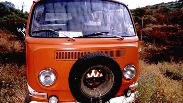 The orange Kombi