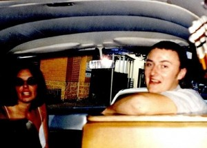 Lees and Falconio in the Kombi