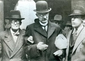 Wallace  being arrested