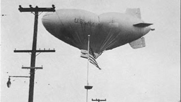 The unexplained mystery of the blimp crew that vanished