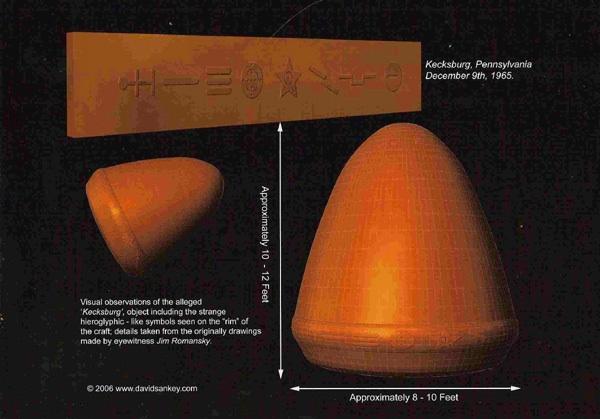 The acorn UFO