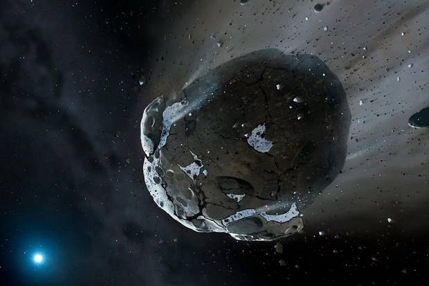 Does a giant asteroid have earths name on it?