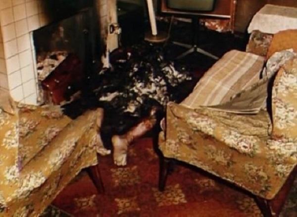 Michael Faherty, spontaneous human combustion
