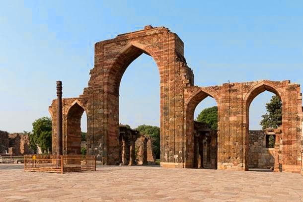 Iron Pillar Of Delhi: