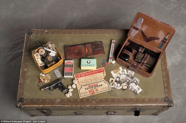 Contents of one case