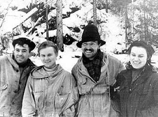 "Nicolai Thibeaux-Brignolle, Lyudmila Dubinina, Semen ""Alexander"" Zolotarev, Zinaida Kolmogorova"