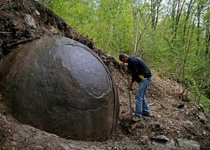 Unexplained stone ball discovered in Bosnia
