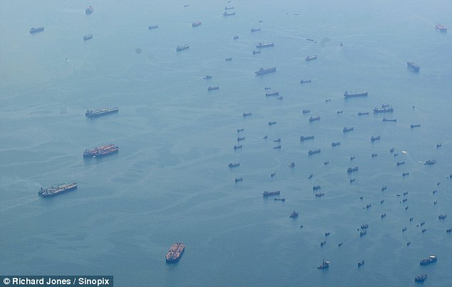 The biggest and most secretive gathering of ships in maritime history