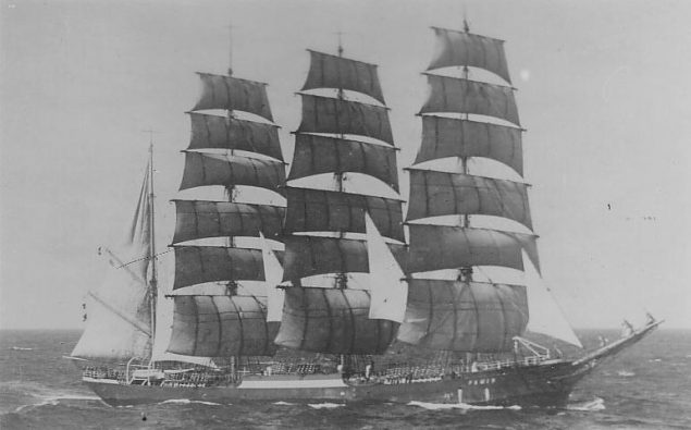 The ghost ship - Pamir