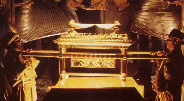 The first time the world sees the Ark of Covenant?