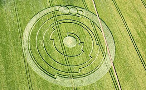Most Complex Crop Circles Discovered in Britain