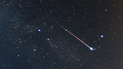 Mystery Meteor Flashes Across British Skies