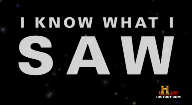 I Know What I Saw – Documentary Film