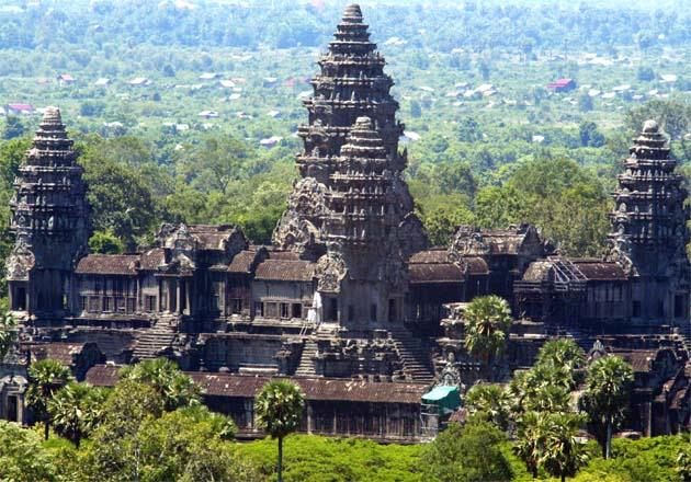 Did aliens help build Angkor Wat?