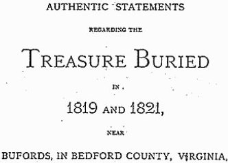 Lost Treasure – The Beale Papers mystery
