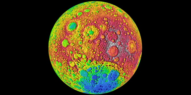 The Lunar Far Side: The Side Never Seen from Earth, Dark Side of The Moon Examined.