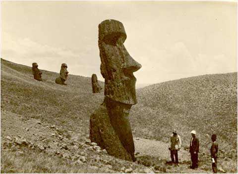 "Easter Island – The mystery of the ""walking"" statues"