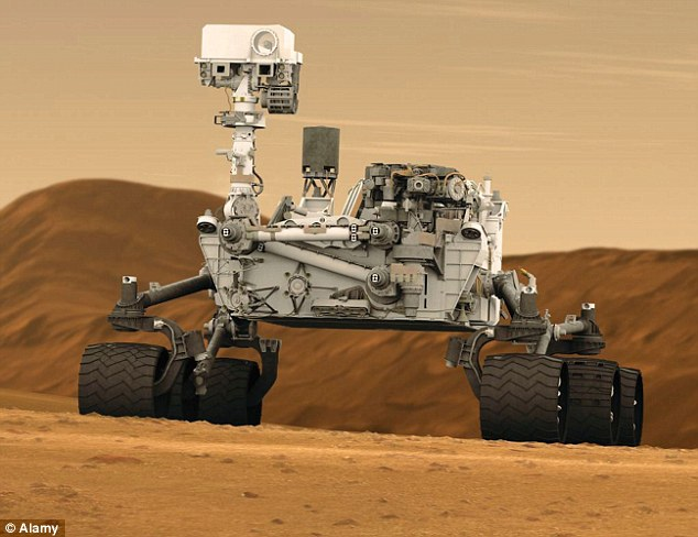 Mars Rover, taken by aliens? or just broken ?