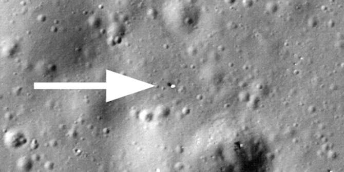 A Lost Russian Rover is Found on The Moon