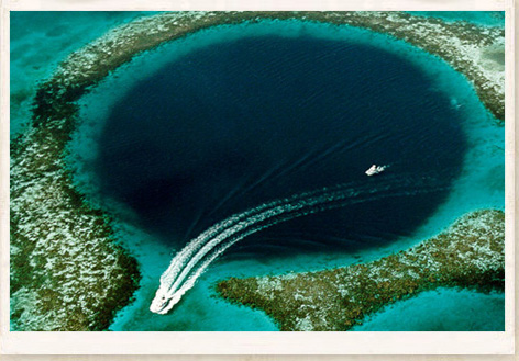 Strange Places – GREAT BLUE HOLE – BELIZE