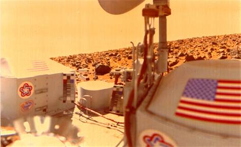 Viking robots found life on Mars in 1976 – proof!